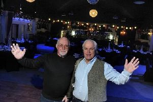 Peter Fletcher and Ian Darrington in The Village on the Green