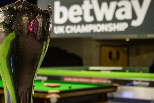 2019 Betway UK Championship tickets go on sale on Sunday, December 9 at 10am