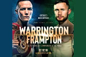 Warrington v Frampton fight tickets up for grabs
