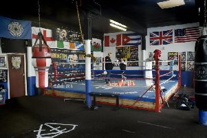 Josh Warrington prepares for a fight in Manchester with Carl Frampton.