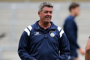 EXCITED: Carnegie director of rugby, Chris Stirling
