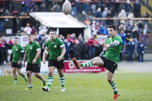 Cain Southernwood in action for Hunslet.