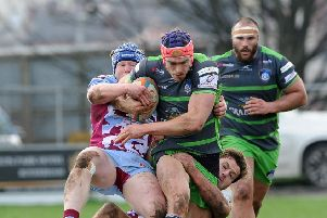 Yorkshire Carnegie are on a winning run but winger Chris Elder says part-time opponents and today's hosts Richmond will 'put everything on the line' in a battle for the points (Picture: Scott Merrylees).