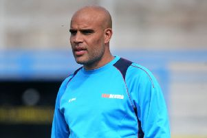Guiseley joint manager Marcus Bignot.