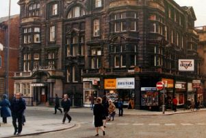 1970s: The YMCA building on Albion Street.