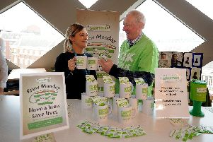 Samaritans recently hosted a Brew Monday at the John Lewis Store, Leeds
