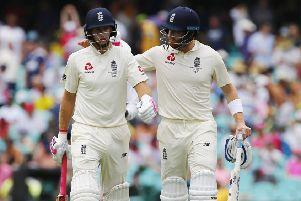 TIM FOR CHANGE: Should England's Yorkshire duo Joe Root, left, and Jonny Bairstow be moved around the England batting order? Picture: Jason O'Brien/PA