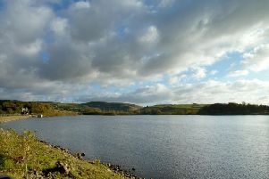 Hollingworth Lake, Huddersfield, where the infected dog had been walked