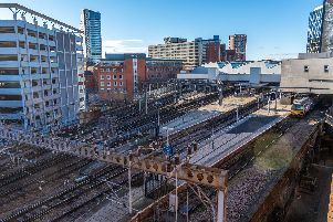 The man was seriously injured during an altercation on the concourse at Leeds Station.