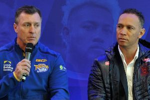 David Furner and Adrian Lam are facing each other as head coaches for the first time on Friday.