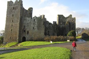 Bolton Castle makes an impressive start to this circuit of Wensleydale.