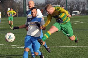 New Middleton made it 13 from 13 with a 7-1 win against Prospect, played at Miiddleton Leisure Centre after the Sharp Lane pitch was unfit. 'Hero of the day for New Middleton was Chris Ovington who scored five. PIC: Steve Riding
