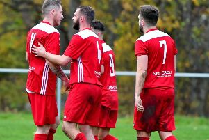 Hartshead bowed out of the West Riding County Challenge Cup on penalties after they drew 1-1 with Huddersfield Amateur. Picture: Paul Butterfield