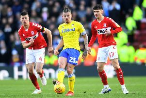Kalvin Phillips, set to carry on in midfield for Leeds United against Swansea.