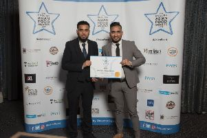 Leeds takeaway claims prize at first ever English Asian Food Awards