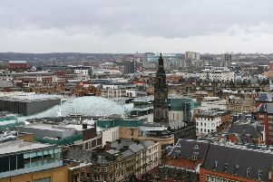 Leeds city centre is a magnet for property buyers.