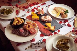 The Valentine's restaurant experience will be trialled in Morrisons Skipton cafe