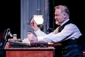 Owen Teale as Rutherford in Rutherford and Son. Photo by The Other Richard.