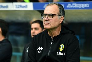 Leeds United head coach Marcelo Bielsa.