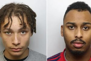 Emile Riggan and Shaheem Isaac were sentenced at Leeds Crown Court.