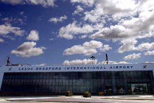 Leeds/Bradford International Airport.