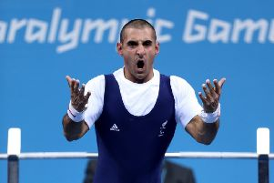 Ali Jawad en route to winning a silver in Rio (Picture: PA)