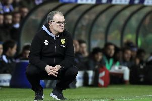 BACK TO IT: Marcelo Bielsa.