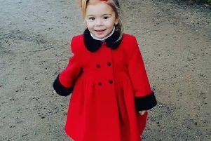 Four-year-old Thalia-Beau Wright has a rare heart disease called restrictive cardiomyopathy and needs a heart transplant. Photo credit: Christine Johnson, Thalia's grandmother.