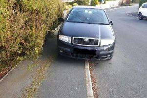 The Skoda driver was fined