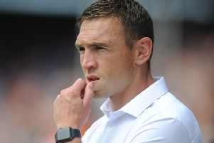 Kevin Sinfield.. Picture Tony Johnson.