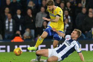 Leeds United take on West Brom on Friday evening.