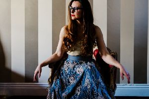 The Emella skirt, �145, from a bespoke collection at WhatsYourSkirt.com. Photographer: Tim Dunk, Make-up: Ashley Tyrell Greenwood and Emily Durham, Model: Kim Michelle Linfoot