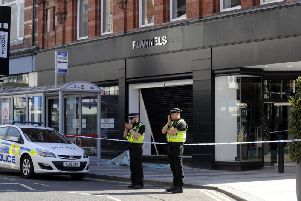 This is why there are so many ram raids on shops in Leeds city centre