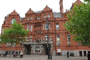 St Helens Central Library at the Gamble Building
