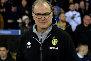 Leeds United's head coach Marcelo Bielsa is not being distracted by Saturday's derby with Sheffield United (Picture: Bruce Rollinson).