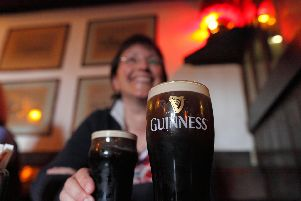 Celebrate St Patrick's Day in Leeds with a pint of Guinness