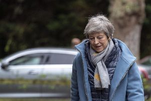 Theresa May. Picture by PA.