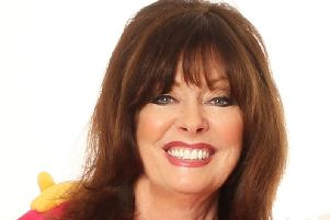 Vicki Michelle in Hormonal Housewives. Photo by Darren Bell.