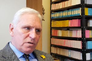 Retired Detective Chief Superintendent Paul Johnston who caught the notorious shoe fetish killer Christopher Farrow