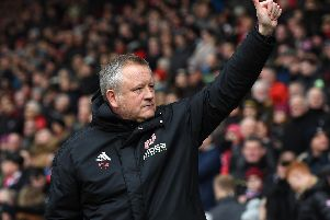 INFLUENCE: Blades boss Chris Wilder.