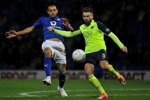 Action from when Chesterfield played Havant & Waterlooville earlier in the season.