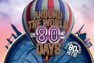 Around the Word in 80s Days at The Grand Theatre, Blackpool.'It will be the first summer show produced by The Grand's own production company, Blackpool Grand Productions Ltd.