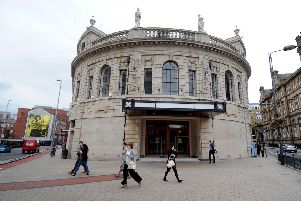 Date: 17th September 2012.'The former Majestyk nightclub in City Square, Leeds.