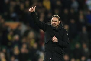 Norwich City boss Daniel Farke.