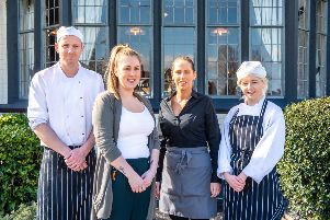 REFURBISHMENT: The team at The Inn at Scarcroft.