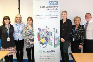 Some of the East Lancashire staff