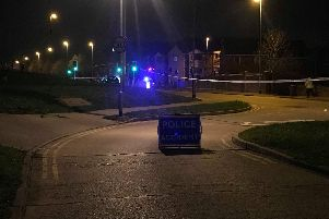 The road is currently closed