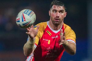 Catalans Dragons' Matty Smith.
