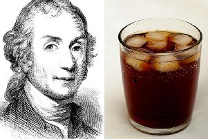 Priestley invented fizzy drinks in Leeds this week 252 years ago