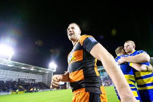 Castleford Tigers' Liam Watts has been called up for England duty (SWPix)